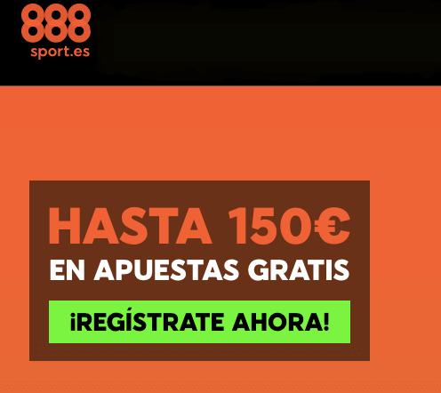 bono hasta 150 euros apuestas 888 sport