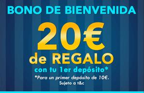 bono yobingo 20 euros gratis