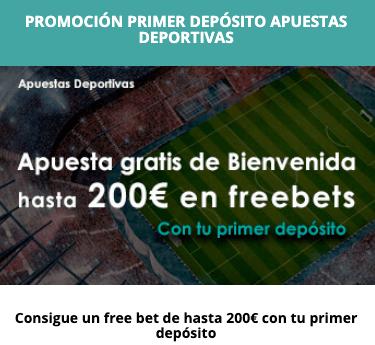 ijuego promoción bienvenida 200 euros en freebets