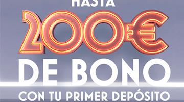 bono botemania hasta 200 euros con el primer deposito