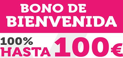 Bono wanabet hasta 100 euros