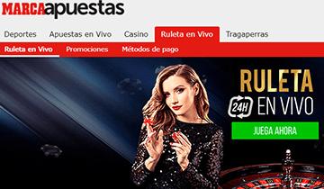 marca apuestas casino en vivo