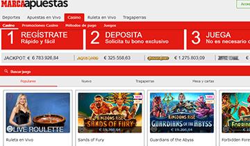 marca apuestas casino online españa