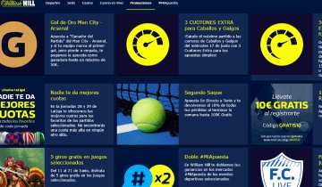WilliamHill Codigo Promocional