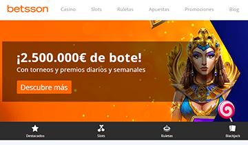 betsson casino online españa