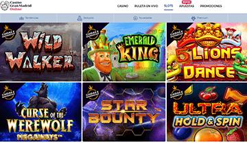 casino gran madrid slots online