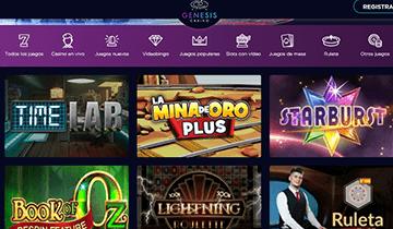 juegos populares genesis casino