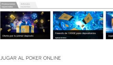 888 Poker Codigo Promocional