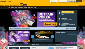 Betfair Poker Espana