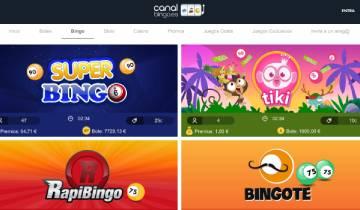 CanalBingo Bingo España