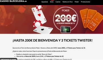 Casino Barcelona Poker Codigo Promocional