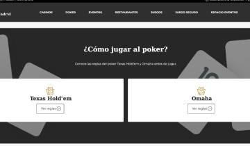 Casino Gran Madrid Poker Codigo Promocional