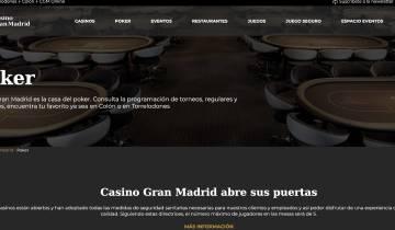 Casino Gran Madrid Poker Espana