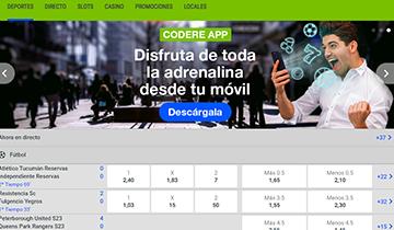 Codere app movil para apostar online