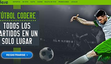 Codere casa de apuestas deportivas online