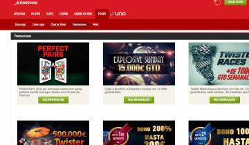 Sportium Poker Bono