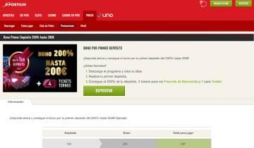 Sportium Poker Codigo Promocional
