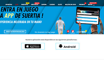 App movil de apuestas deportivas suertia