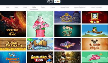 canal bingo slots online