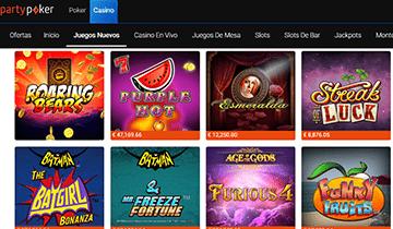 partypoker juegos de casino online