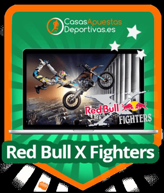 Apostar en la red bull x Fighters en casas de apuetas online