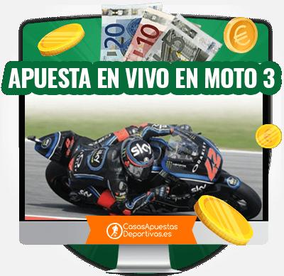 apuestas en directo en carreras de moto 3