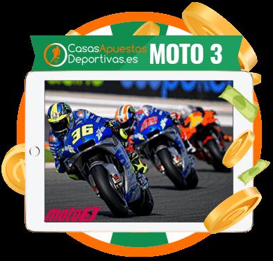 Apuestas online en carreras de moto 3
