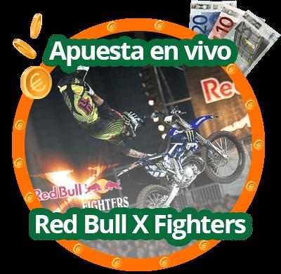 Apuestas en vivo en X fighters de red bull