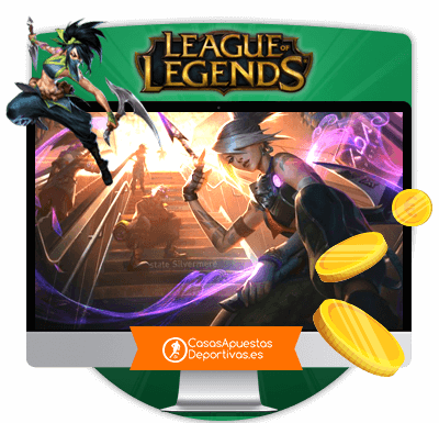 casas de apuestas para apostar en League of Legends