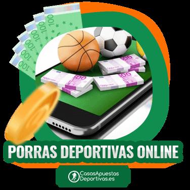 Porras deportivas en casas de apuestas online