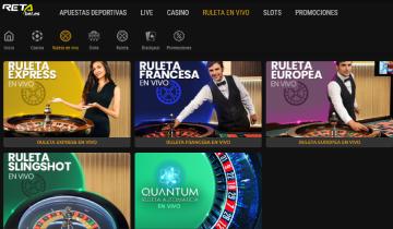 retabet juegos de casino en vivo