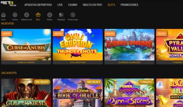 retabet slots online populares