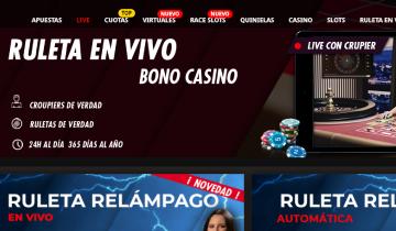 suertia juegos de casino en vivo