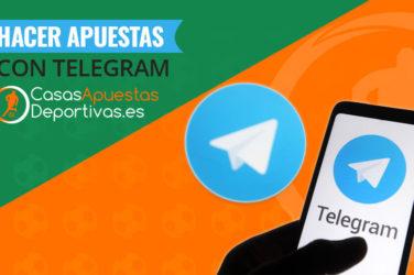 Apuestas a través de telegram
