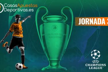 Jornada 3 de la Champions League