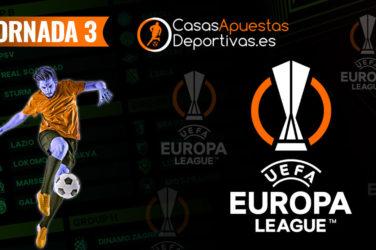 Jornada 3 Europa League
